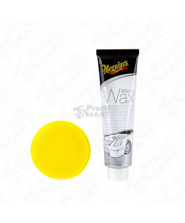 Cera para Autos de Color Blanco a Claros Meguiars G6107 414 ml-Blanco