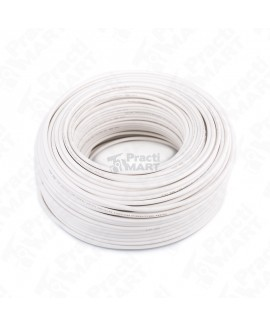 Cable Tipo THW-LS/THHW-LS SLY305 Calibre 10 Blanco Indiana