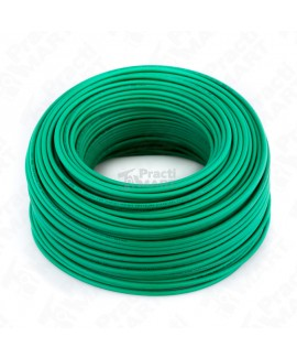 Cable Tipo THW-LS/THHW-LS SLY307 Calibre 10 Verde Indiana