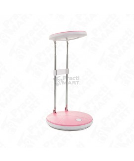 Lámpara de Mesa Laiting Estonia Con Entrada LED 2.5W-Rosa