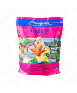 Fertilizante Inorgánico Nutrigarden Triple 17 Bolsa de 1 kg-Multicolor