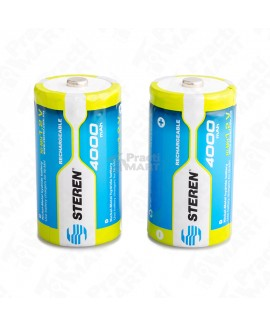Batería Recargable Steren BAT-NM-C2 1.2 V 3000 mAh NiMH-Multicolor